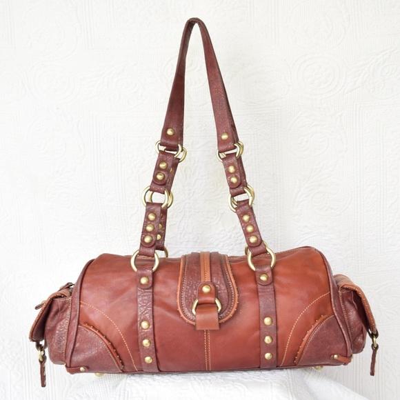 20c60c34f7 MARC CHANTAL MC Purse Handbag hobo Saddle Bag. M 5b9931856a0bb74d0320416c
